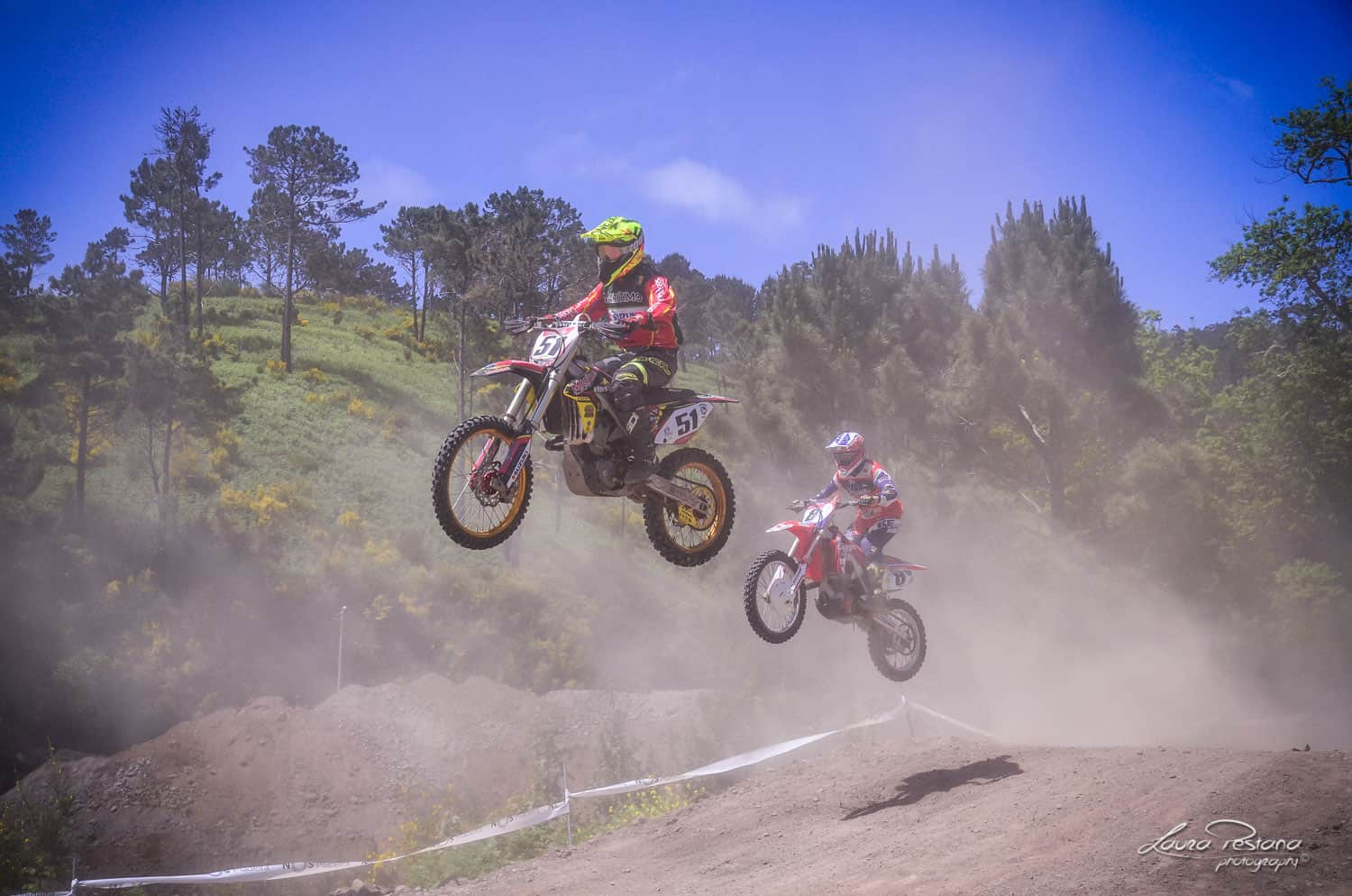 A Motocross Race Photo