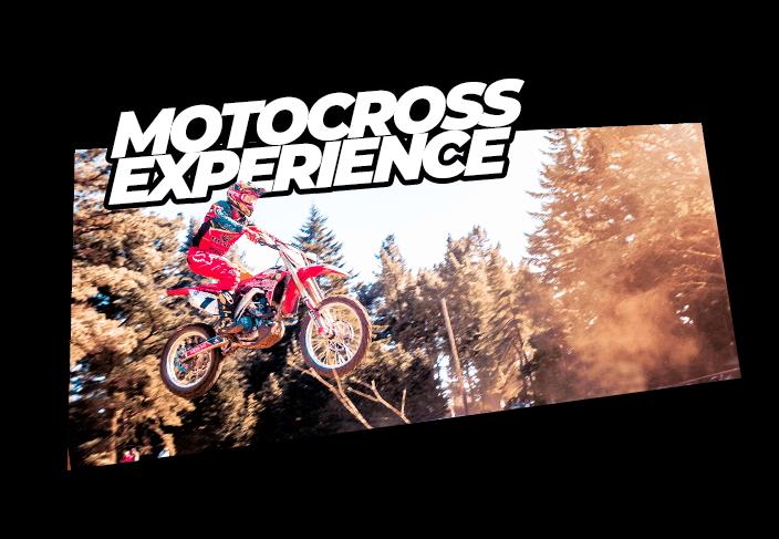 motocross experience button