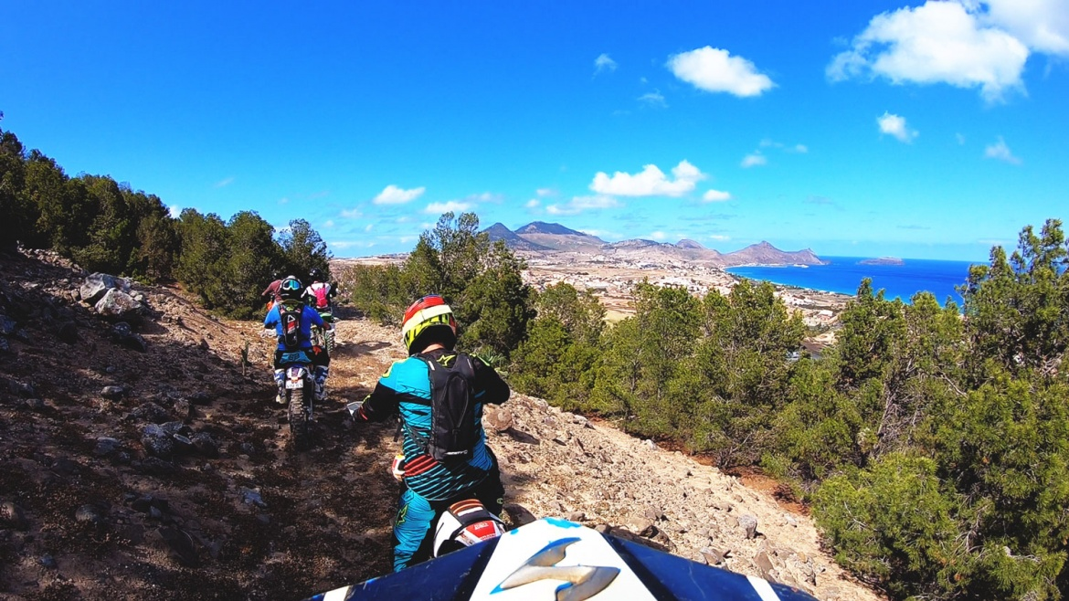 Enduro Riding in Porto Santo